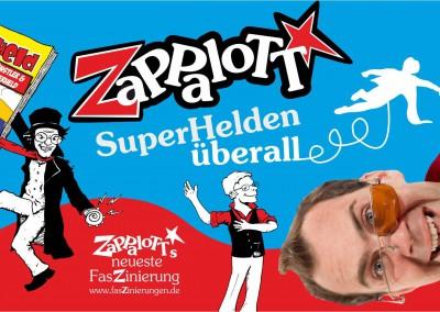 Zauberer Zappalott – Superhelden überall