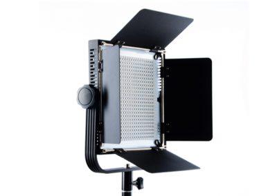 2x LED 576 Flächenleuchte, 5600K & 3200K, Dimmbar, Akku/Netzteil